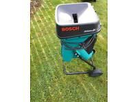 Bosch 2000 garden shredder