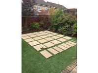 Garden slabs