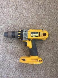 Dewalt DW988 cordless drill (comes with one battery)