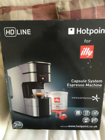 Hotpoint for Illy Espresso Coffee Machine - BNIB