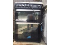Hotpoint Ultima HUD 61 Gas hob and double electric oven/grill for sale