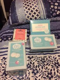 Breast pads and milk storage pads- open to offers