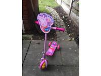 Peppa pig child's scooter