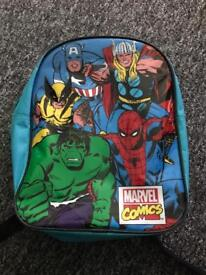 Marvel comics rucksack/bag