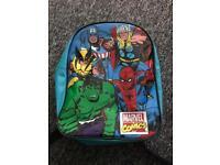 Marvel comics rucksack/bag