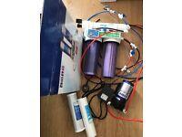 100gpd Ro unit and pump