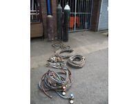 Acetylene Gas Welding Equipment and Bottles