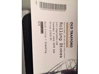 Rolling Stone Ticket 5th June at Manchester x1