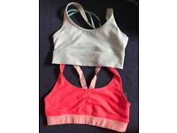 Set of two holister sports bras