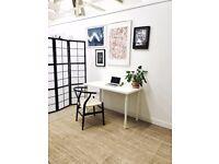 Desk Space in Creative Warehouse Studio