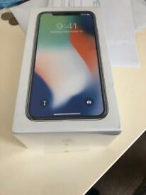 Iphone x brand new sealed on EE 256gb silver