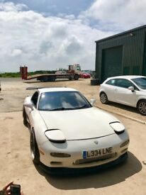 Mazda rx7 1993 single turbo 400+bhp