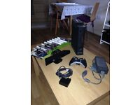 Xbox 360 (120Gb) + Kinect + 10 games