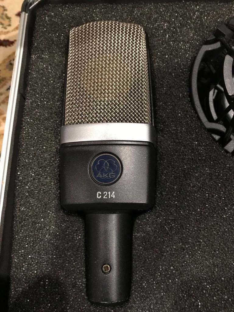 AKG C214 Condenser Microphone (2 of 2)