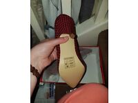 Decent offers accepted Lady bop heels . Retro/vintage/rockabilly shoes new in box £10 each