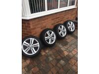 "vw polo 16"" 5x100 alloy wheels"