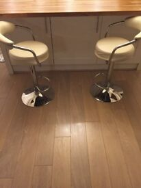 A PAIR of Barstools