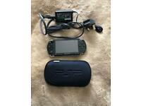 Sony PSP - immaculate condition with 3 games and 3 movies