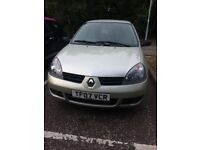 2007 plate Renault Clio for sale
