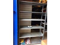 Industrial warehouse pallet racking shelves Heavy duty // Very good condition