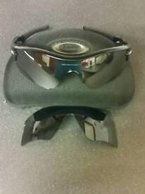 Genuine Oakley radar path sunglasses