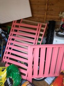 Apsley coral mothercare cot