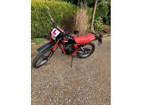 Yamaha DT 50 de-restricted moped/motorbike for sale