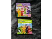 2 teletubbies books