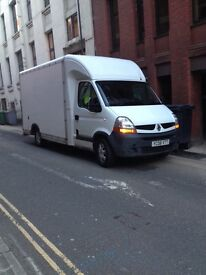 Fully insured Man and van York day and night read ad for price guide large Luton size van