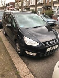 Ford Galaxy with Pco Uber Ready 61 Plate