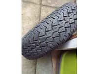 SPARE TYRE / WHEEL - TRAILER / CARAVAN
