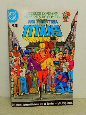 VINTAGE DC COMIC- KEEBLER COMPANY PRESENTS- THE NEW TEEN TITANS- 1983- GOOD- L5 ()