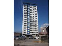 2 Bedroom Flat, 10th Floor - Tavy House, Duke Street, Mount Wise, Plymouth, PL1 4HL