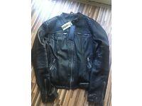 Women's Superdry Black Leather Jacket