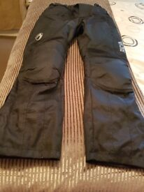 Motorcycle Richa Trousers Size Large