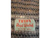 Genuine welsh wool blanket