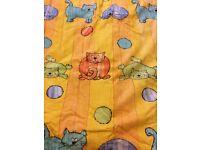 Girls Curtain - width 55 height 64 -width 140cm, height 165 cm