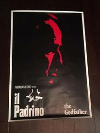 Godfather 1, 2 & 3 Movie Posters