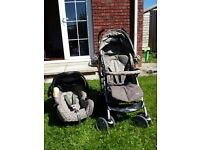 Graco Mosaic 3-in-1 pram, pushchair & car seat