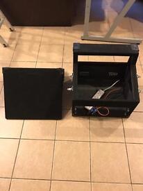 "19"" rack DJ / CD / Mixer flight case"