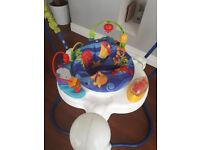 """Jumperoo """"Under the Sea"""" theme. Second hand"""
