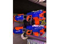 2x Nerf hyper fire elite