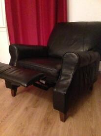 Leather recliner g c