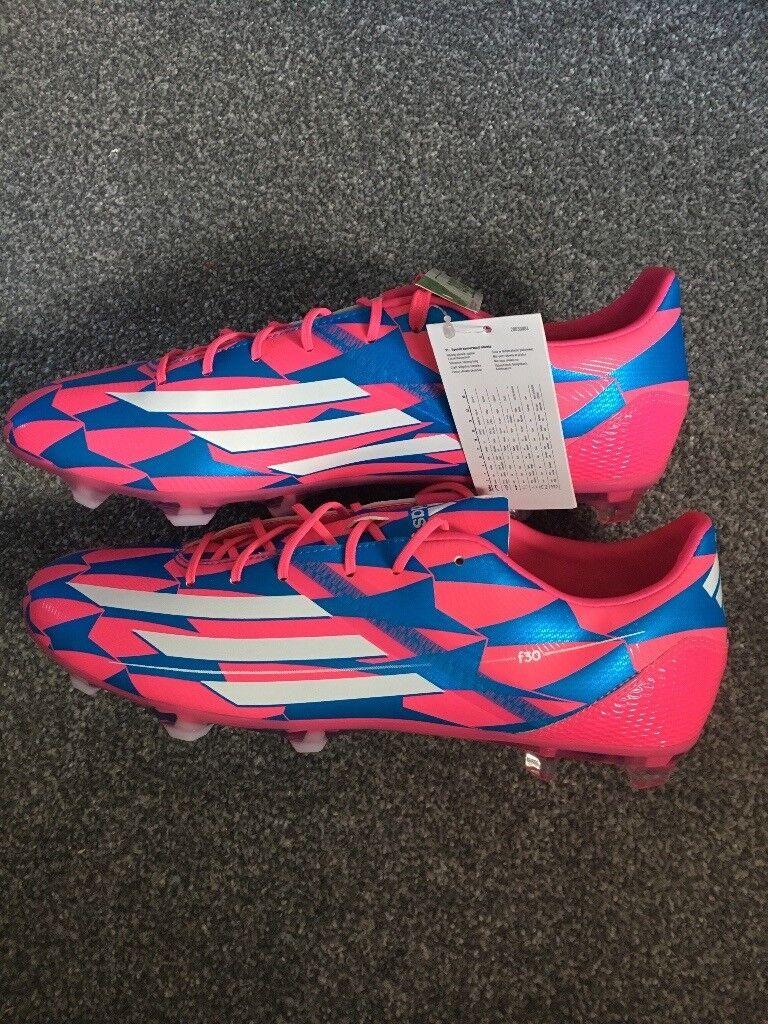 dddb27fd41cd Adidas f50 adizero 2014 pink/blue 9.5 uk | in East Boldon, Tyne and ...