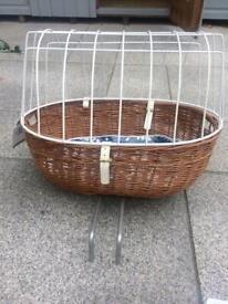 Dog Basket Carrier - Front handlebars