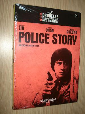 DVD N° 24 BRUCE LEE POLICE STORY CINEMA ARTI MARZIALI