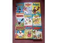 Beano Annuals 1971-1979