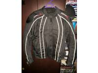 GearX Textile Motorcycle Jacket Size small