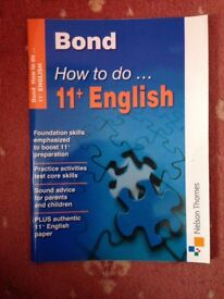 Bond - How to do 11+ English