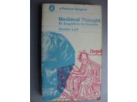 History reference book - Medieval Thought by Gordon Leff